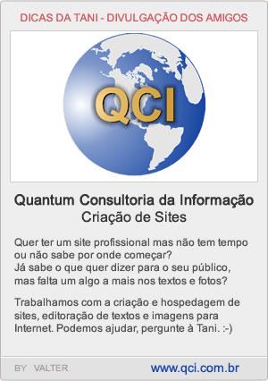 QCI - Sites e Consultoria - www.qci.com.br